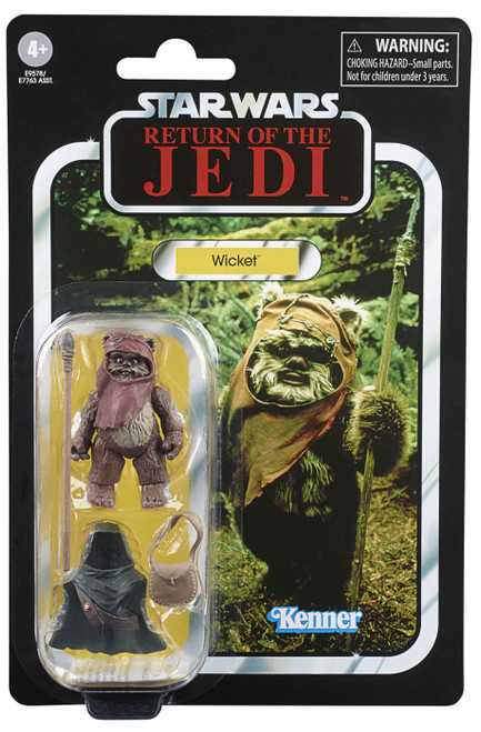 Star Wars Return of the Jedi 2020 Vintage Collection Wave 3 Wicket Action Figure