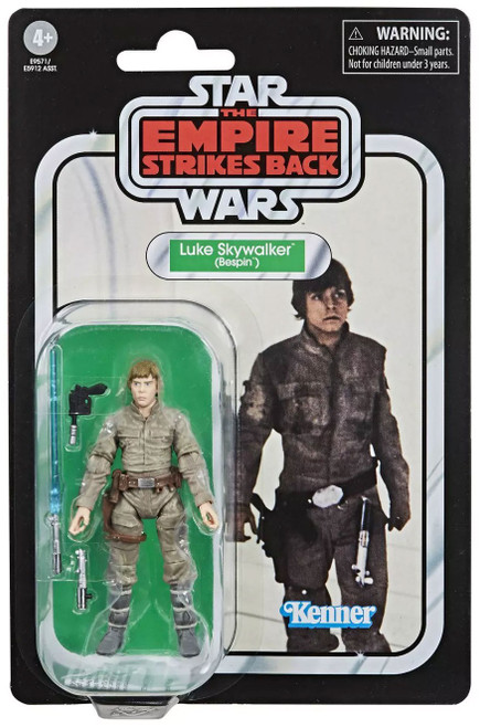 Star Wars Empire Strikes Back Vintage Collection Bespin Luke Skywalker Action Figure