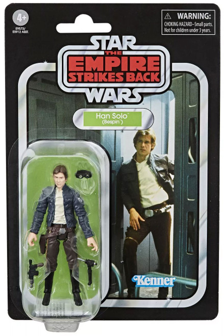 Star Wars Empire Strikes Back Vintage Collection Han Solo Action Figure [2020 Version]