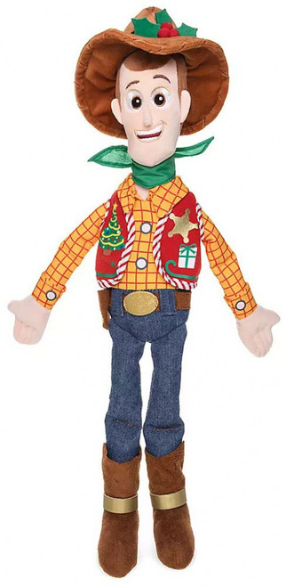 Disney Toy Story 2019 Holiday Woody Exclusive 18-Inch Plush