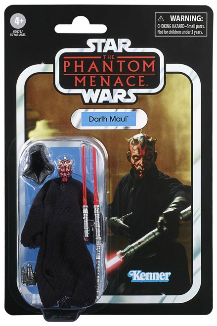 Star Wars The Phantom Menace 2020 Vintage Collection Wave 3 Darth Maul Action Figure