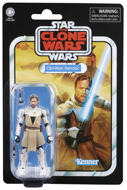 Star Wars The Clone Wars Vintage Collection Obi Wan Kenobi Action Figure