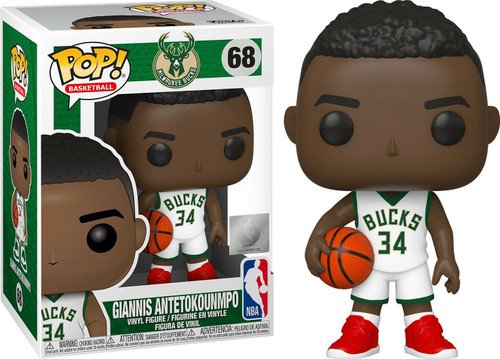 Funko NBA Milwaukee Bucks POP! Sports Basketball Giannis Antetokounmpo Vinyl Figure #68