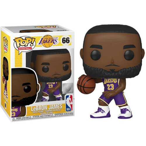 Funko NBA Los Angeles Lakers POP! Sports Basketball LeBron James Vinyl Figure #66