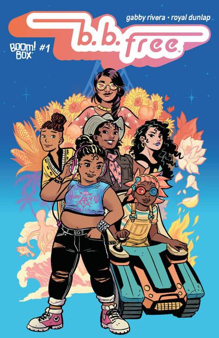 Boom Studios B B Free #1 of 12 Comic Book [Royal Dunlap Cover B]