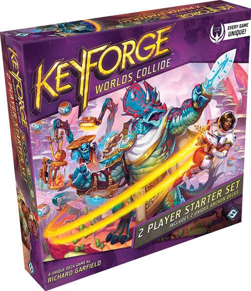 KeyForge Unique Deck Game Worlds Collide 2-Player Starter Set