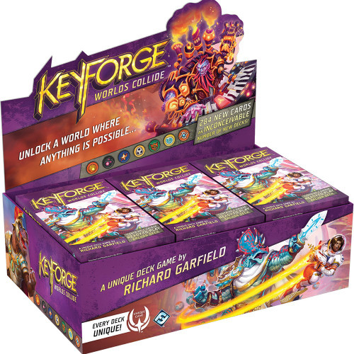 KeyForge Unique Deck Game Worlds Collide Box of 12 Archon Decks