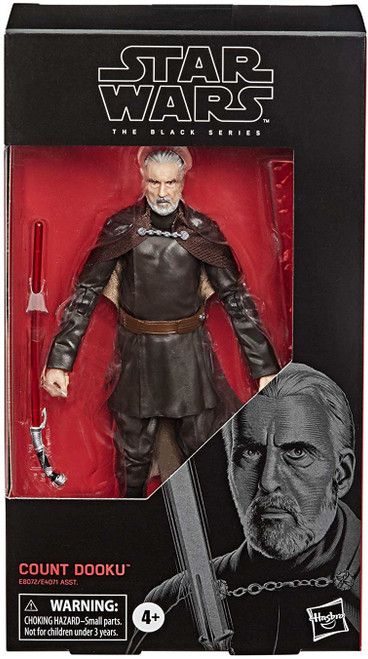 Star Wars Attack of the Clones Black Series Count Dooku Action Figure [2020 Version]