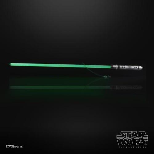 Star Wars The Rise of Skywalker Black Series Kit Fisto Force FX Lightsaber