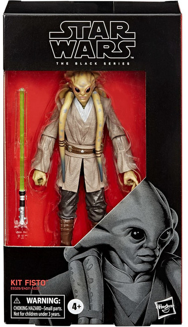 Star Wars Attack of the Clones Black Series Wave 4 Kit Fisto Action Figure