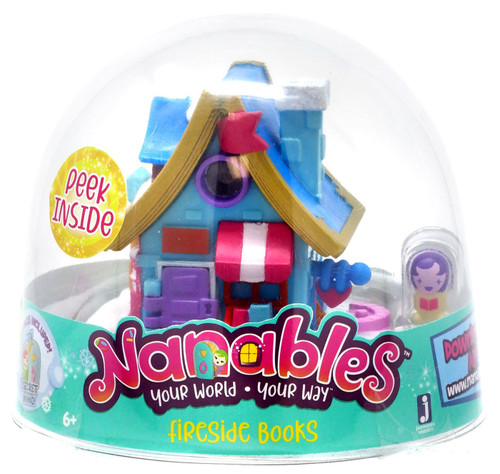 Nanables Fireside Books .5-Inch Mini Playset