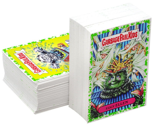 Garbage Pail Kids Topps 2019 Revenge of the Oh, The Horror-ible Trading Card Sticker Complete Set [Green Parallel]