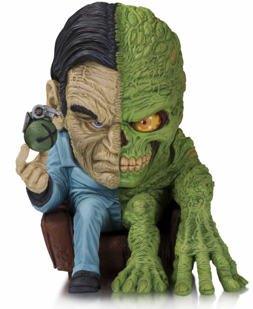 DC Artist Alley Two-Face PVC Collector Statue [James Groman, Damaged Package]