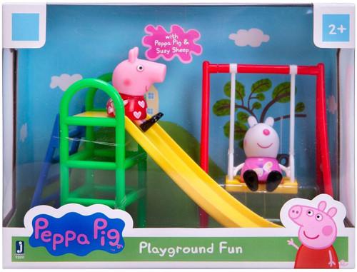 Peppa Pig Playground Fun Mini Figure 2-Pack