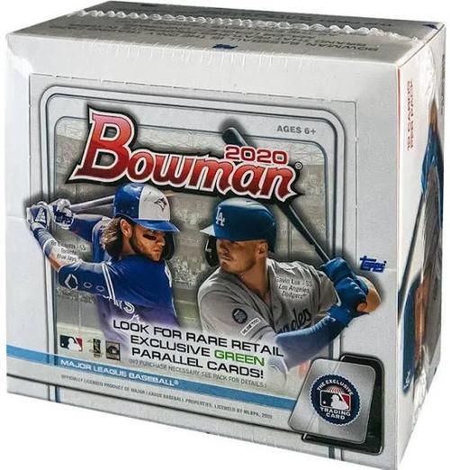 MLB Topps 2020 Bowman Baseball Trading Card RETAIL Box [24 Packs]