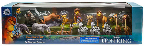 Disney The Lion King Exclusive 18-Piece PVC Mega Figurine Playset