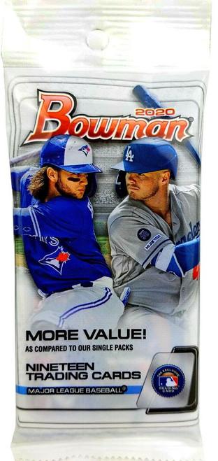 MLB Topps 2020 Bowman Baseball Trading Card JUMBO Pack [19 Cards!]