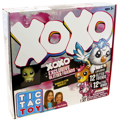 Tic Tac Toy XOXO Exclusive Glitter Friends Mystery Set
