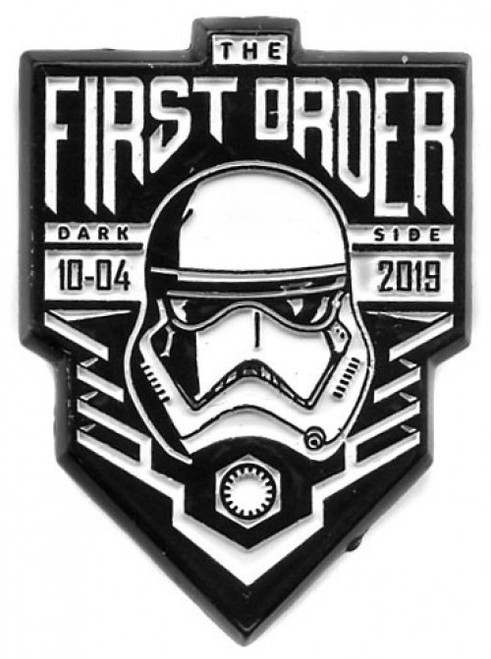 Star Wars The Rise of Skywalker Force Friday First Order 1.5-Inch Pin