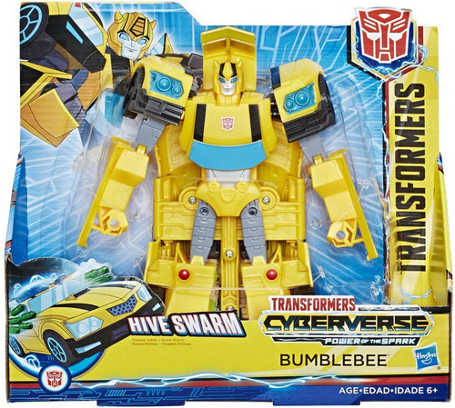 Transformers Cyberverse Power of the Spark Bumblebee Ultra Action Figure [Hive Swarm]