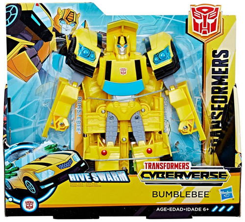 Transformers Cyberverse Bumblebee Ultra Action Figure [Hive Swarm]