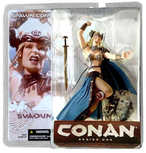 McFarlane Toys Conan the Barbarian Series 1 Svadun Action Figure