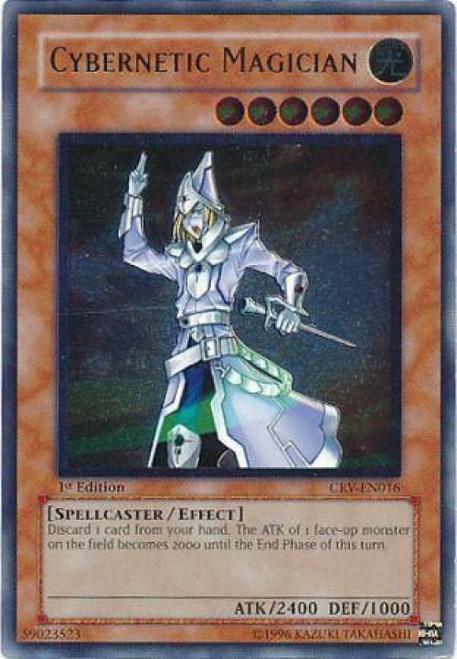 YuGiOh Cybernetic Revolution Ultimate Rare Cybernetic Magician CRV-EN016