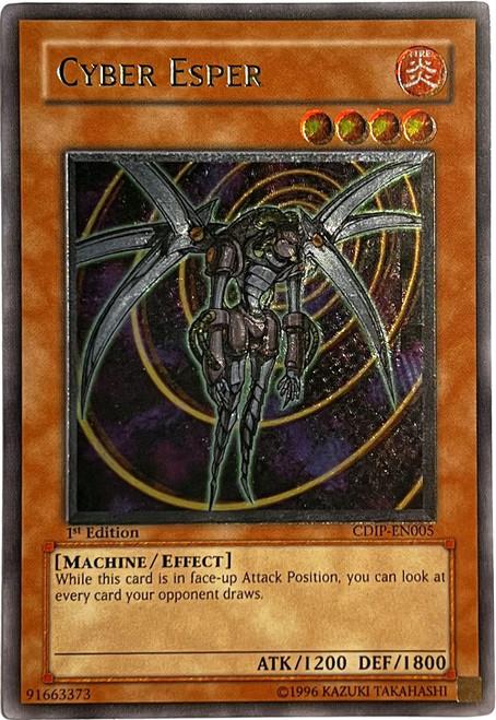 YuGiOh GX Trading Card Game Cyberdark Impact Ultimate Rare Cyber Esper CDIP-EN005