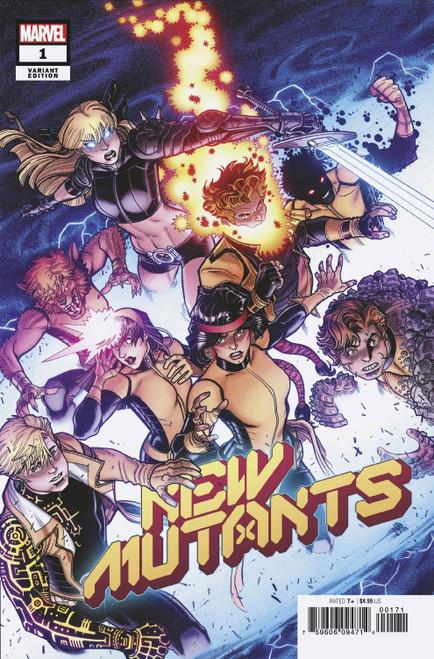Marvel Comics New Mutants #1 Comic Book [Nick Bradshaw Variant Cover]