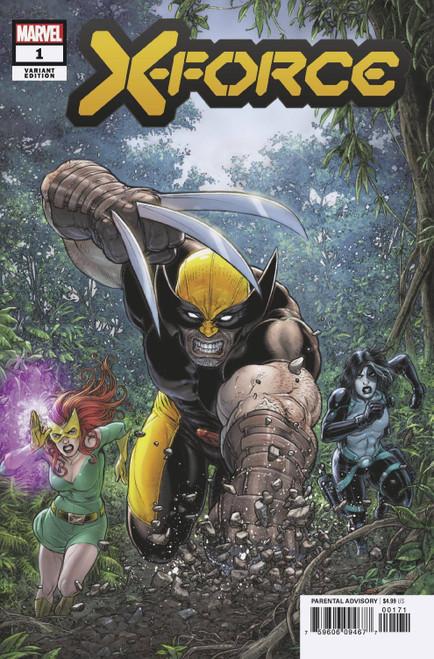 Marvel Comics X-Force #1 Comic Book [Juan Jose Ryp Variant Cover]