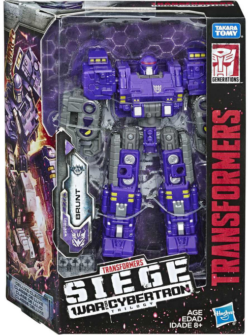 Transformers Generations Siege: War for Cybertron Trilogy Brunt Deluxe Action Figure WFC-S37