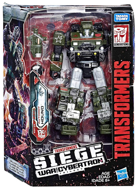 Transformers Generations Siege: War for Cybertron Trilogy Hound Deluxe Action Figure WFC-S9