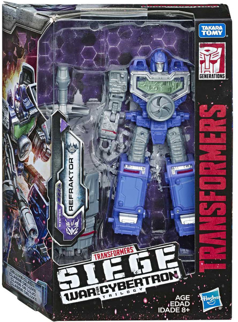 Transformers Generations War for Cybertron: Siege Refraktor Deluxe Action Figure WFC-S36