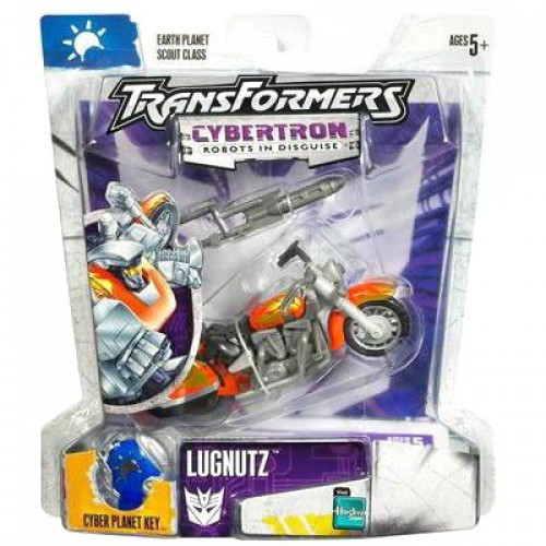 Transformers Cybertron Lugnutz Action Figure