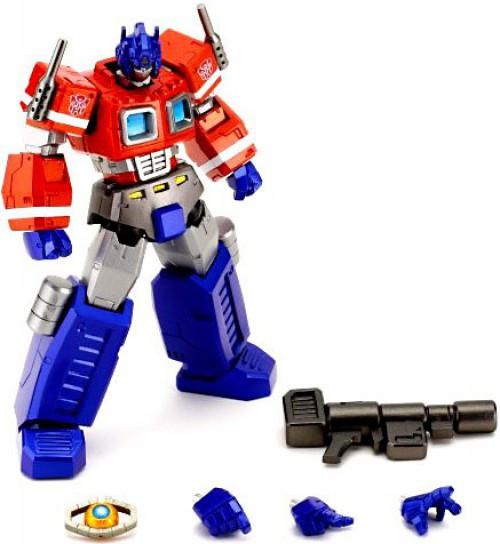 Transformers Japanese Revoltech Cybertech Commander Convoy Action Figure #019 [Optimus Prime]