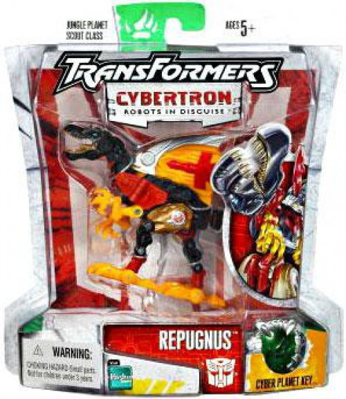 Transformers Cybertron Scout Repugnus Scout Action Figure