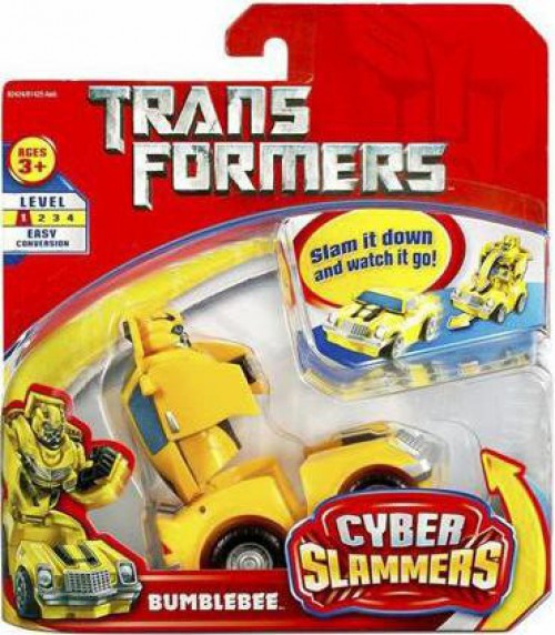 Transformers Movie Cyber Slammers Bumblebee Action Figure
