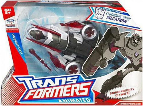 Transformers Animated Voyager Cybertron Mode Megatron Voyager Action Figure