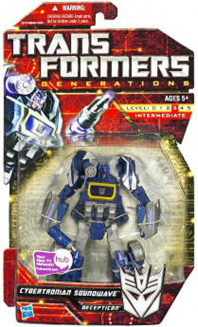 Transformers Generations Cybertronian Soundwave Deluxe Action Figure