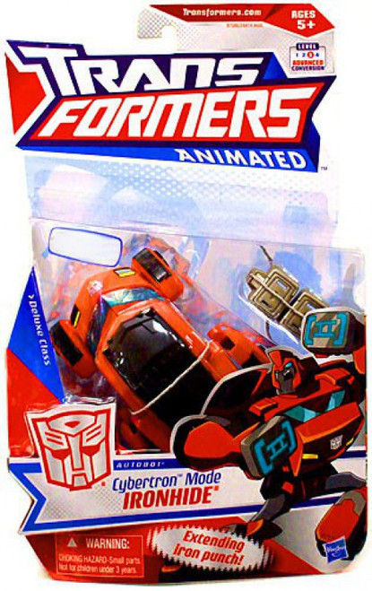 Transformers Animated Cybertron Mode Ironhide Exclusive Deluxe Action Figure