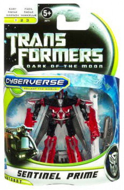 Transformers Dark of the Moon Cyberverse Sentinel Prime Commander Action Figure