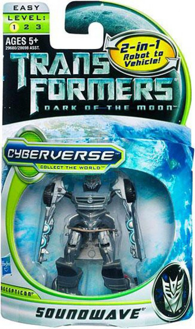 Transformers Dark of the Moon Cyberverse Soundwave Legion Action Figure