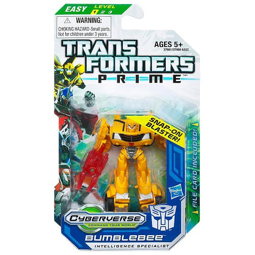 Transformers Prime Cyberverse Bumblebee Legion Action Figure [Intelligence Specialist]