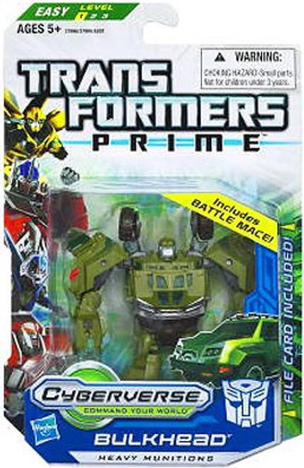Transformers Prime Cyberverse Commander Bulkhead Commander Action Figure