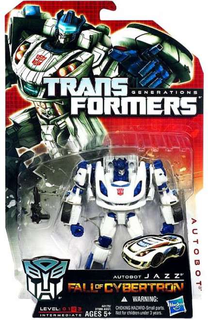 Transformers Generations Fall of Cybertron Autobot Jazz Deluxe Action Figure
