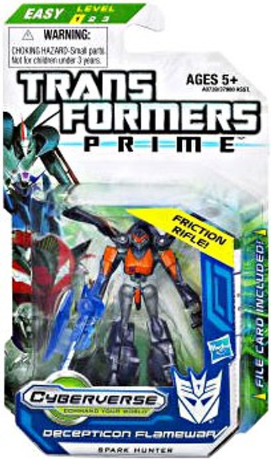Transformers Prime Cyberverse Flamewar Legion Action Figure