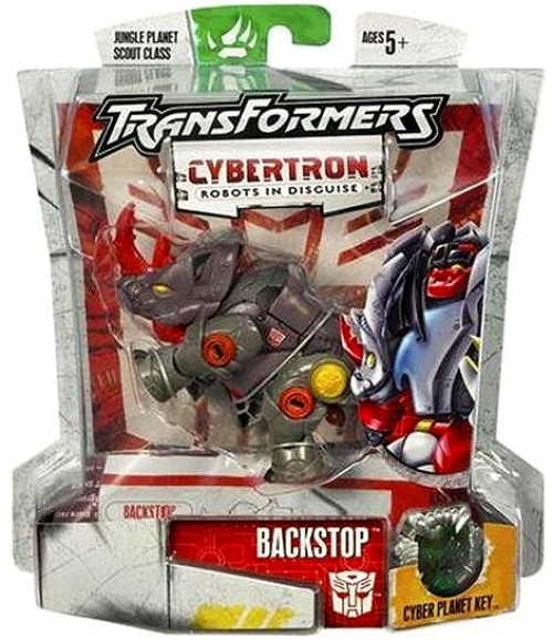 Transformers Cybertron Scout Backstop Scout Action Figure