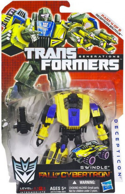 Transformers Generations Fall of Cybertron Swindle Deluxe Action Figure