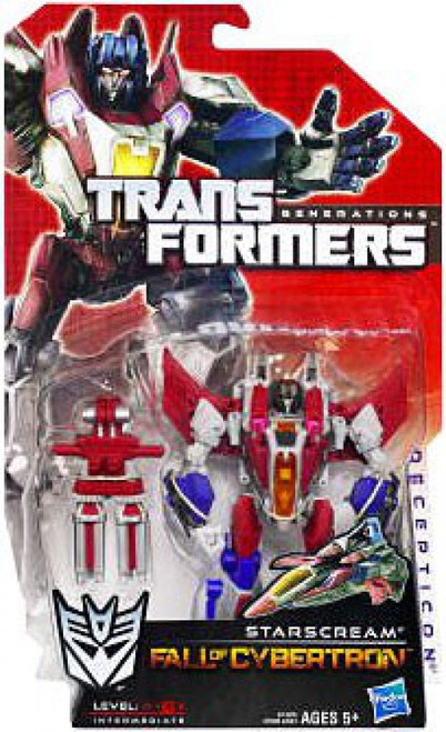 Transformers Generations Fall of Cybertron Starscream Deluxe Action Figure