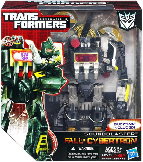 Transformers Generations Fall of Cybertron Soundblaster Voyager Action Figure